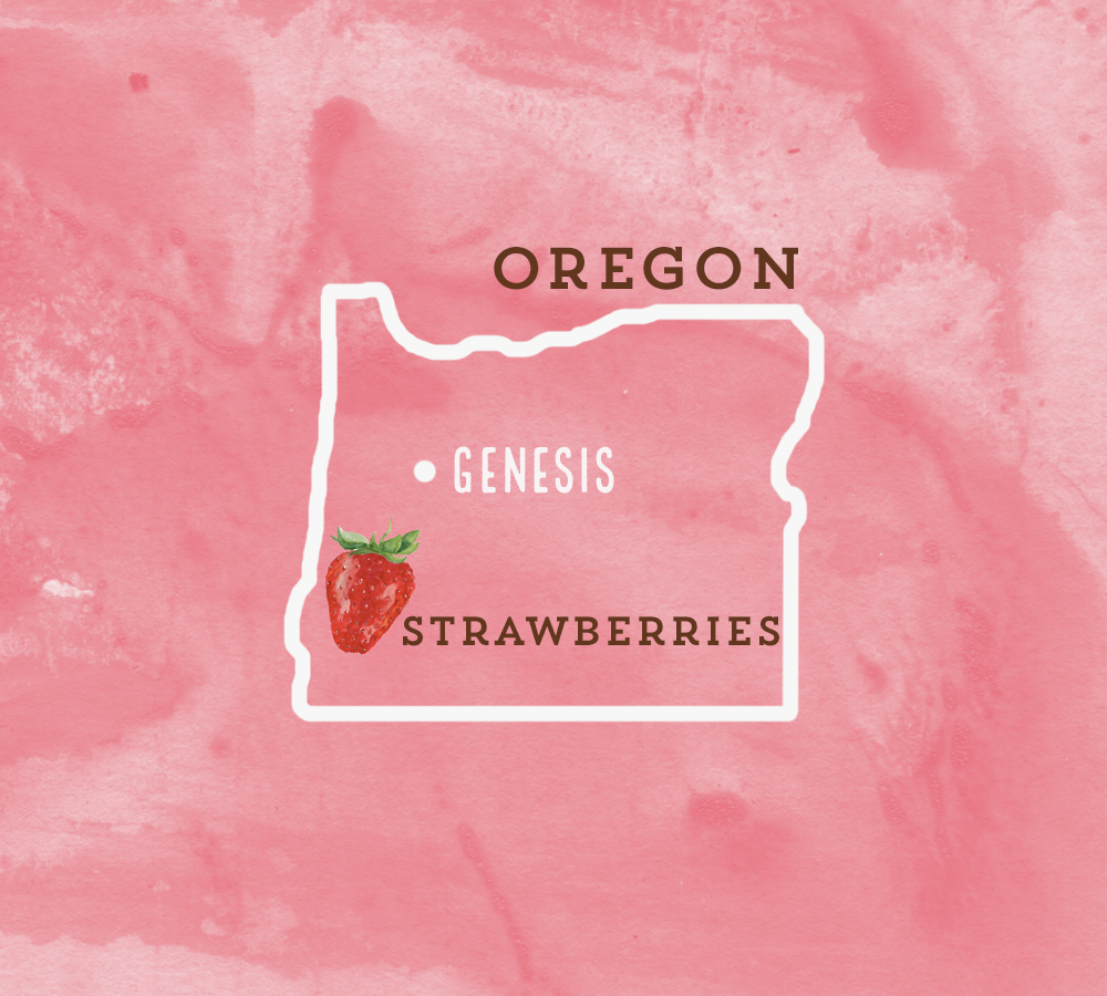 Our nearest strawberry farmer is located just 8 miles from us!