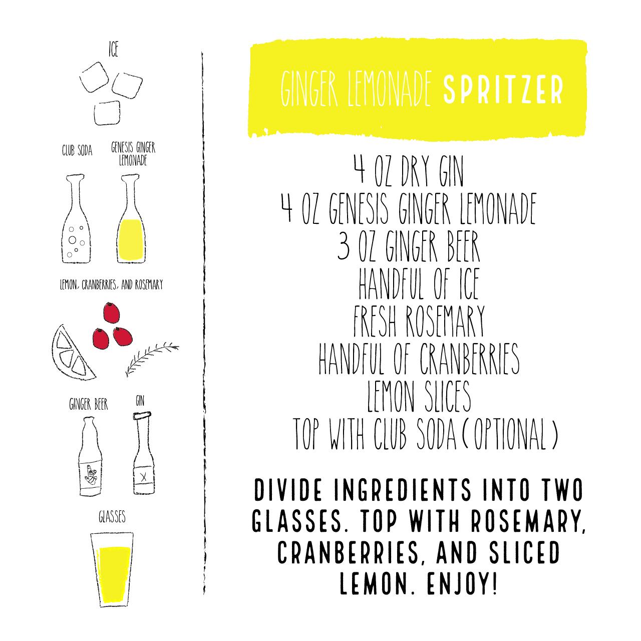 Ginger Lemonade Spritzer Guide