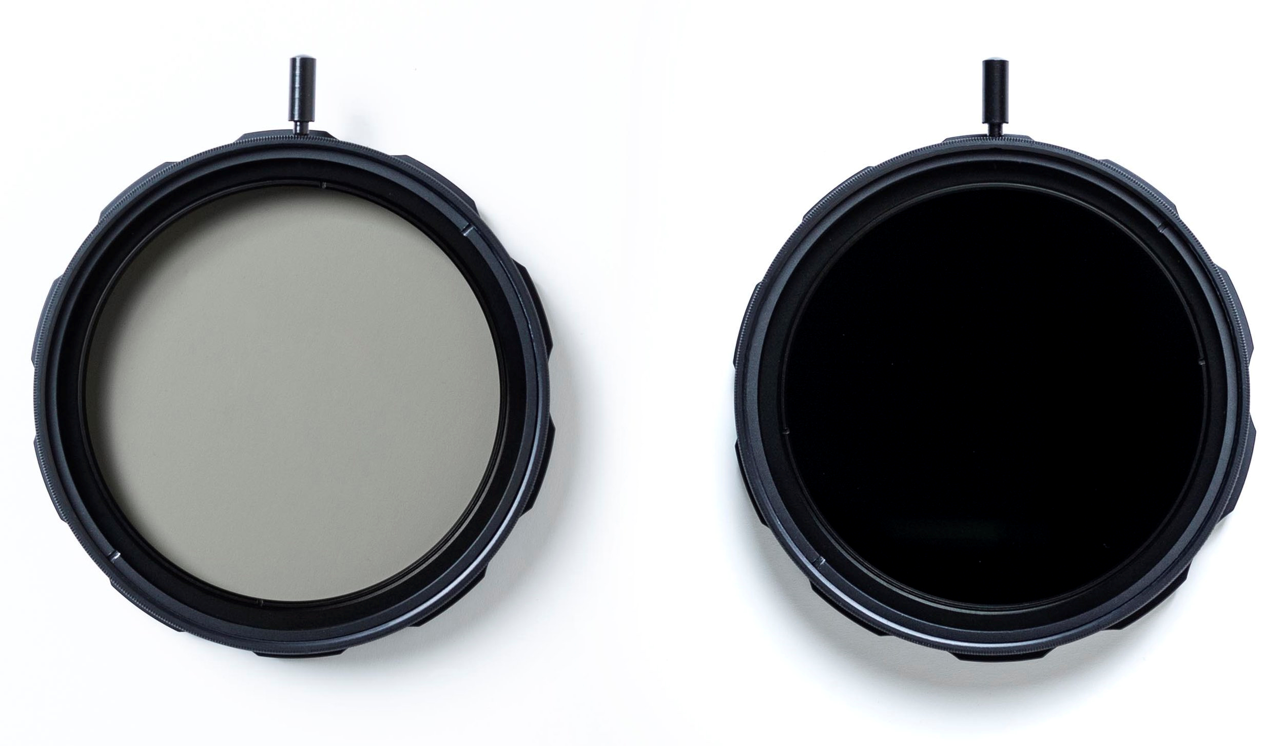 All new 77mm Multistop Filter - The Variable ND is a speciality filter designed to allow quick and continuously variable adjustment of light attenuation between approximately 1-6 stops, depending on conditions.