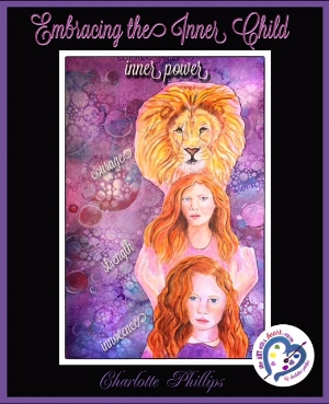 This exercise was about connecting with animal totems that speak to us. Since I have been working with the trinity of the inner child, mother and father within I wanted to use the Lion to represent the spirit or higher consciousness. Through the innocence of the child, the emotional strength of the mother along with the courage of the father we embrace our full self.