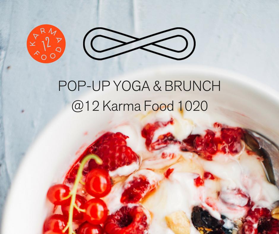 Yoga & Brunch @ 12 Karma Food 1020