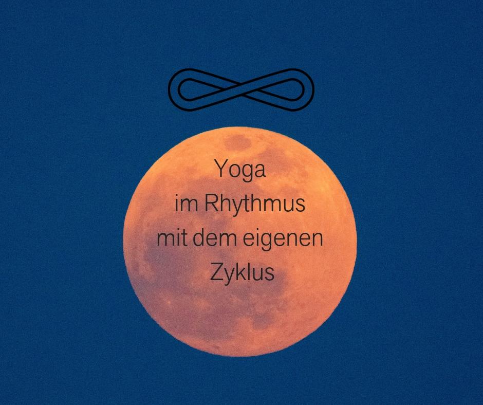 Yoga im Rhythmus mit dem eigenen Zyklus