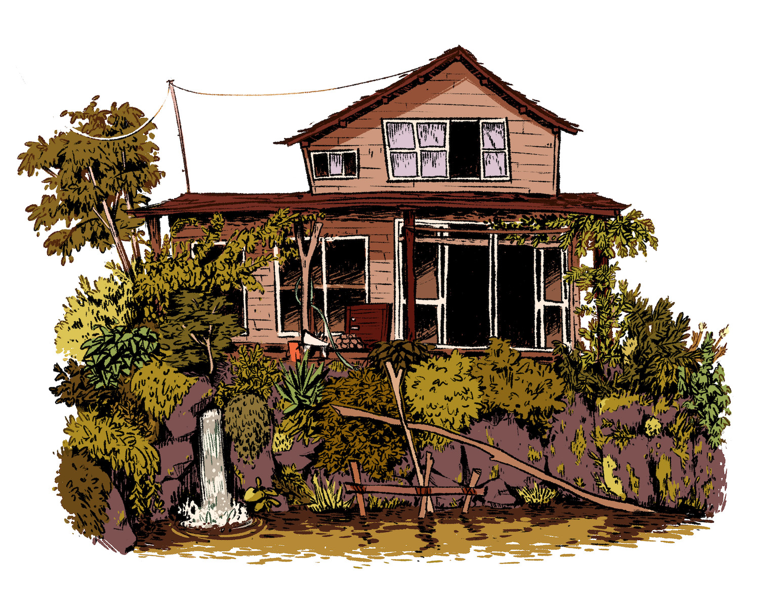 Streamside Home    digital