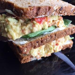famous southern chickpea salad vegan soul food recipe