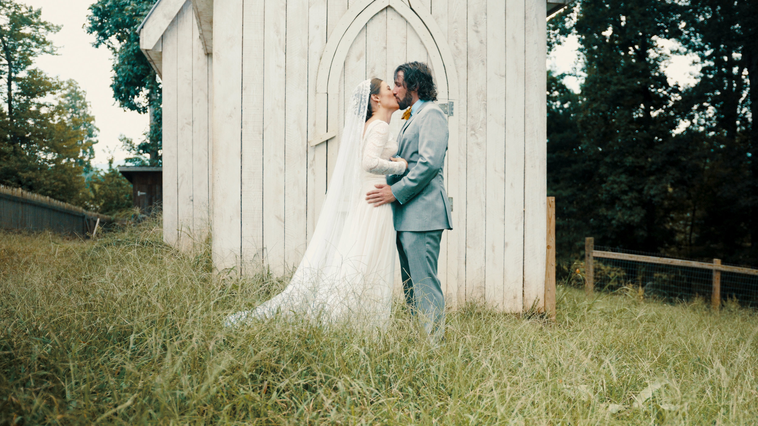 Asheville wedding videographer