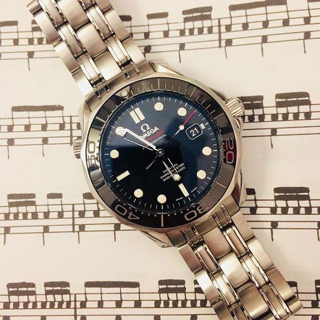 Seamaster, sixteenths. #omega #drumnerd