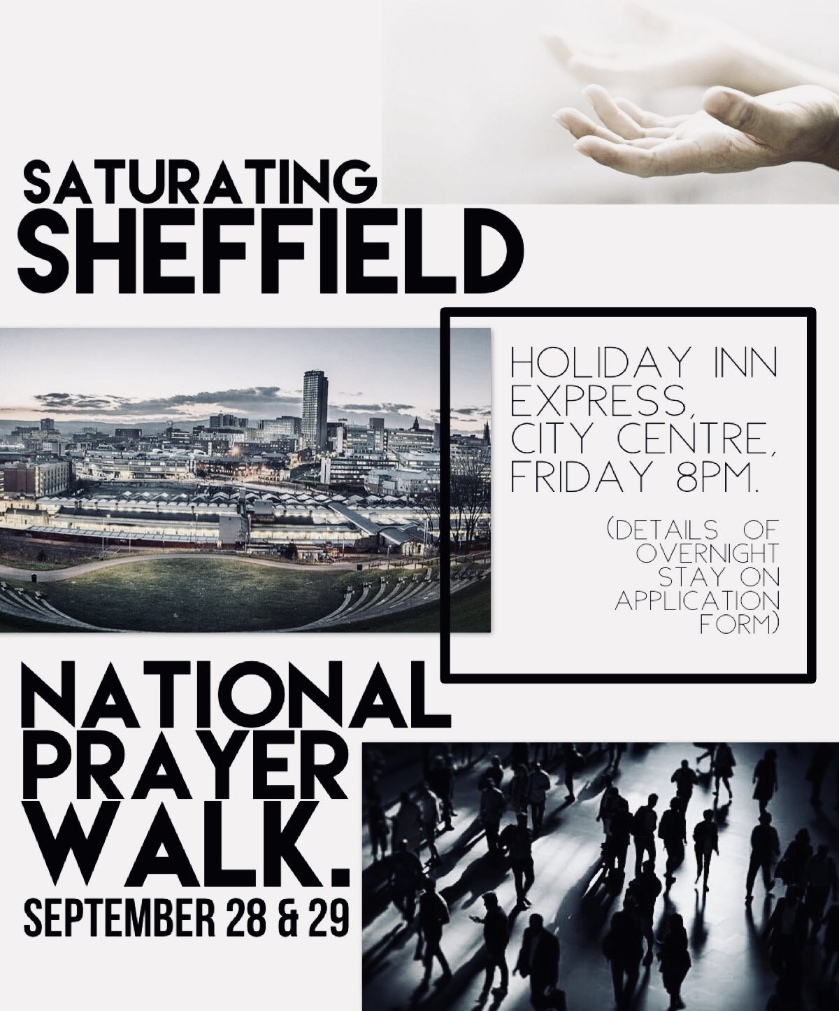 National Prayer Walk 2018 - SATURATING SHEFFIELD