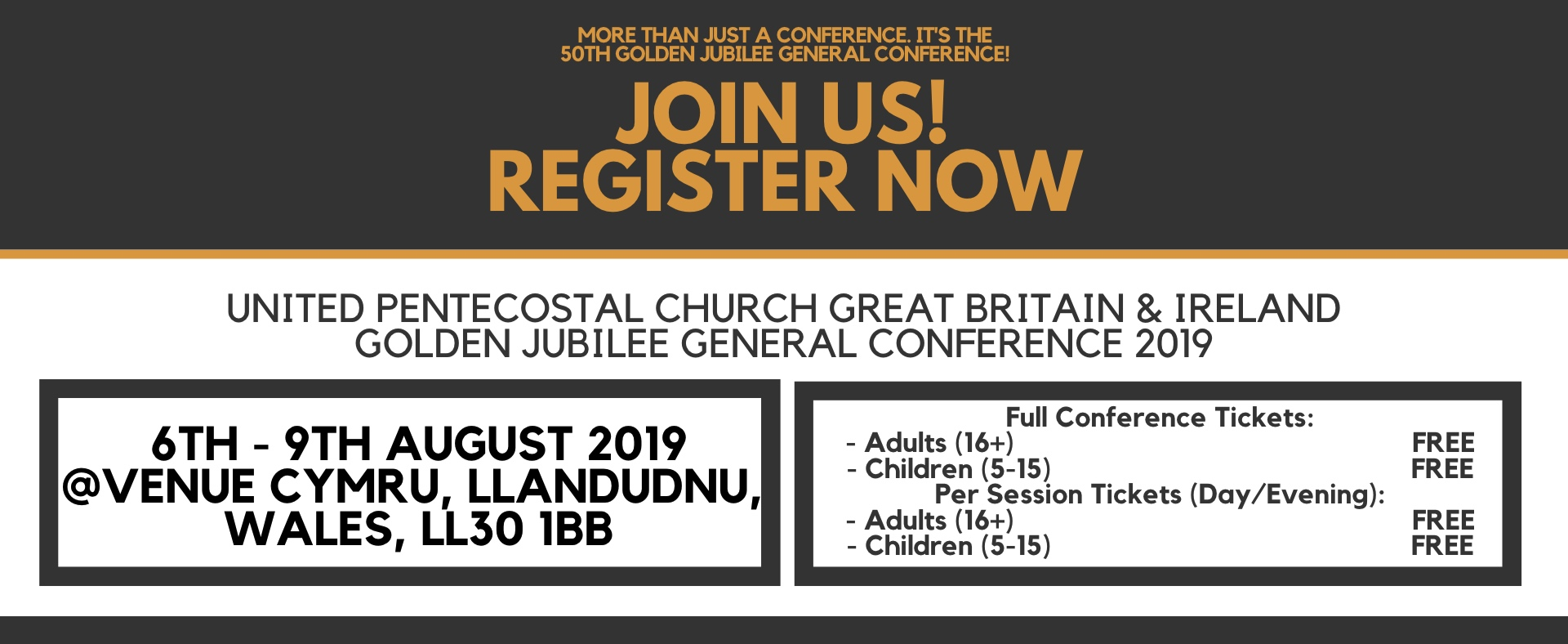 Golden Jubilee General Conference 2019 — United Pentecostal Church GB&I