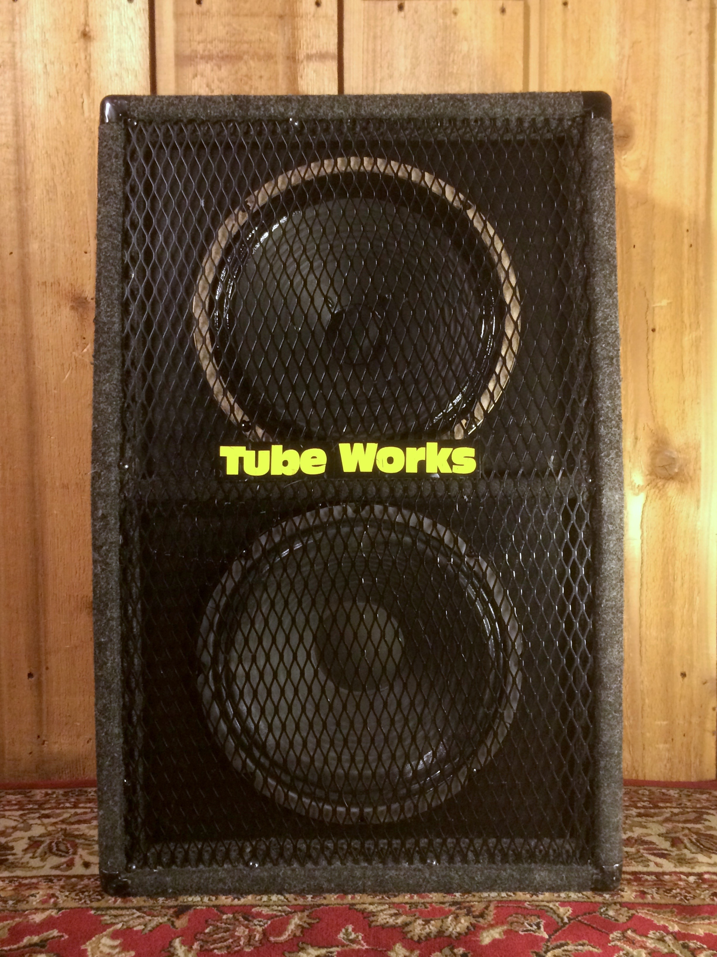 Tube Works 2x12 Cab with Alnico Blue and G12H30 Speakers