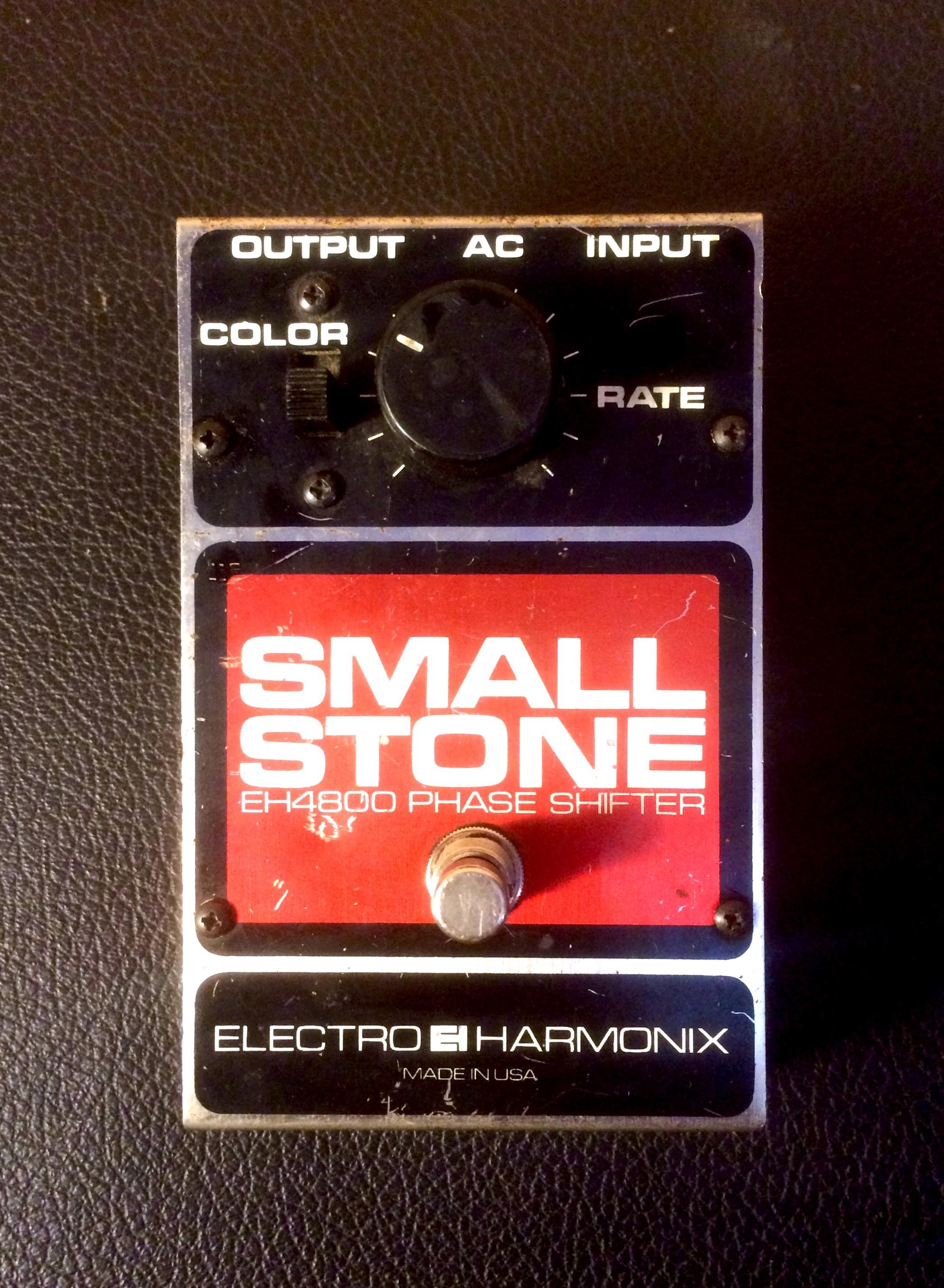Electro Harmonix Small Stone Pedal New