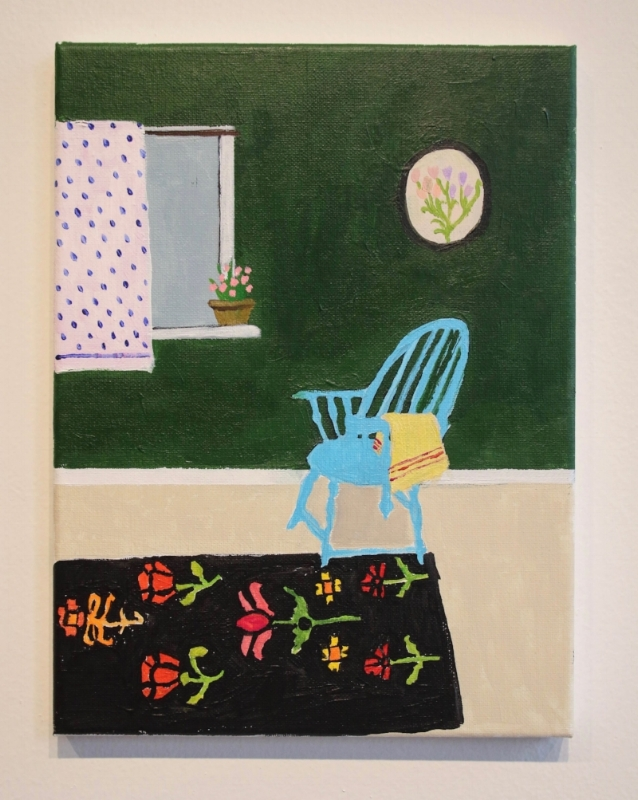 Blue Chair with Floral Rug.jpg