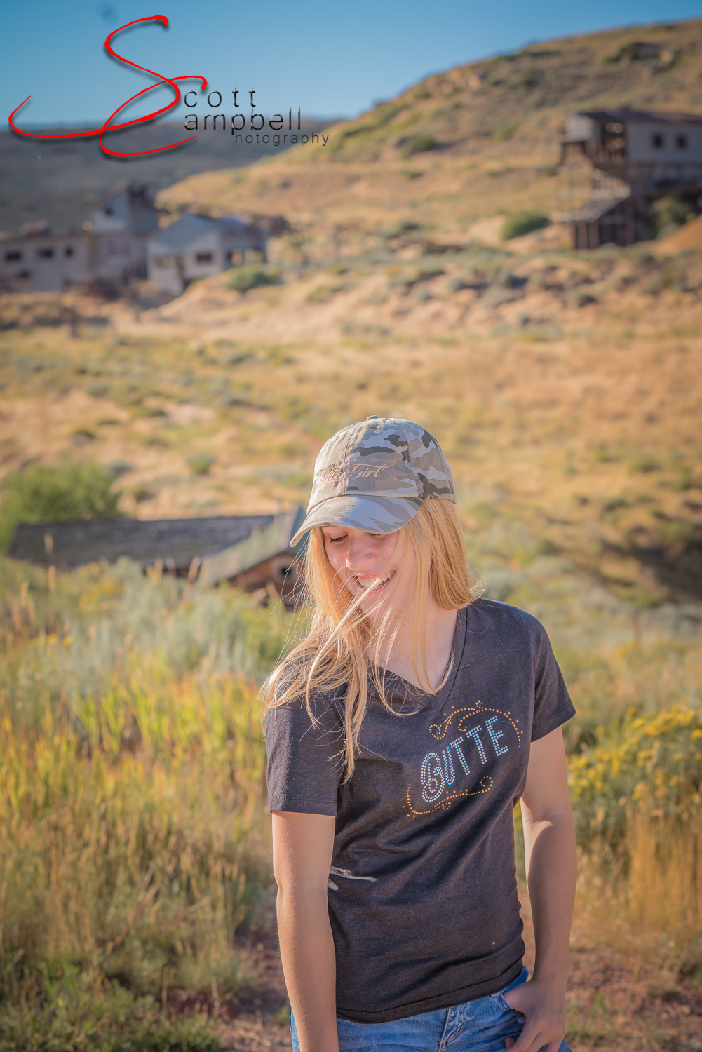 Butte Tee and Butte Girl hat