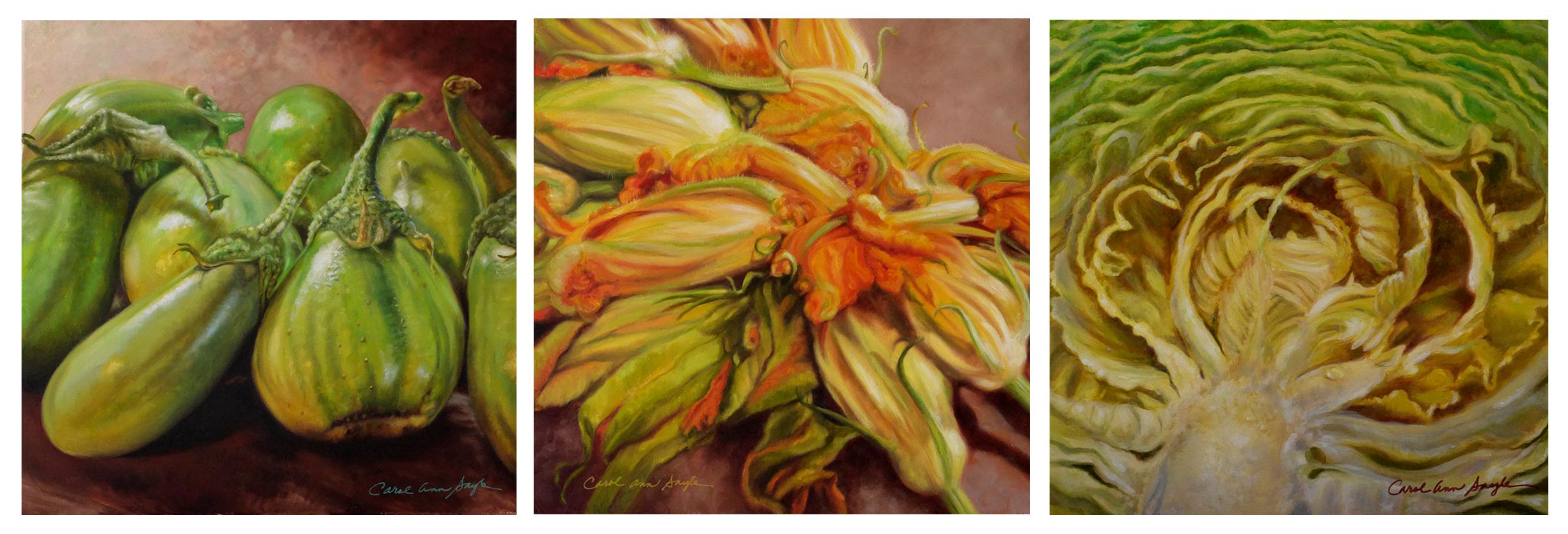 Farmer as ArtistAnnual Community Show - Paintings by Carol Ann Sayle