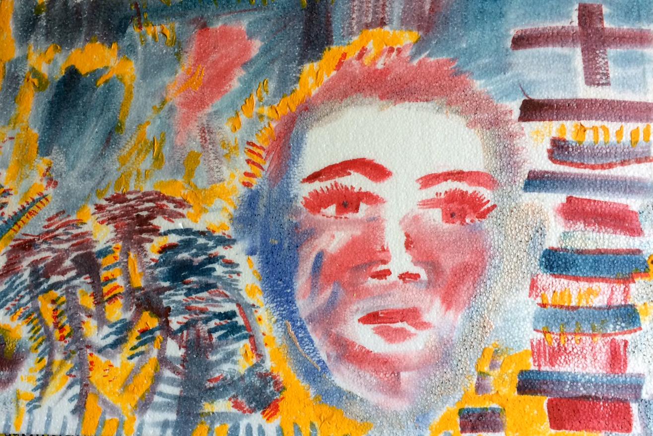 Gary Floyd: The Elder Child - Paintings & Drawings by Gary Floyd