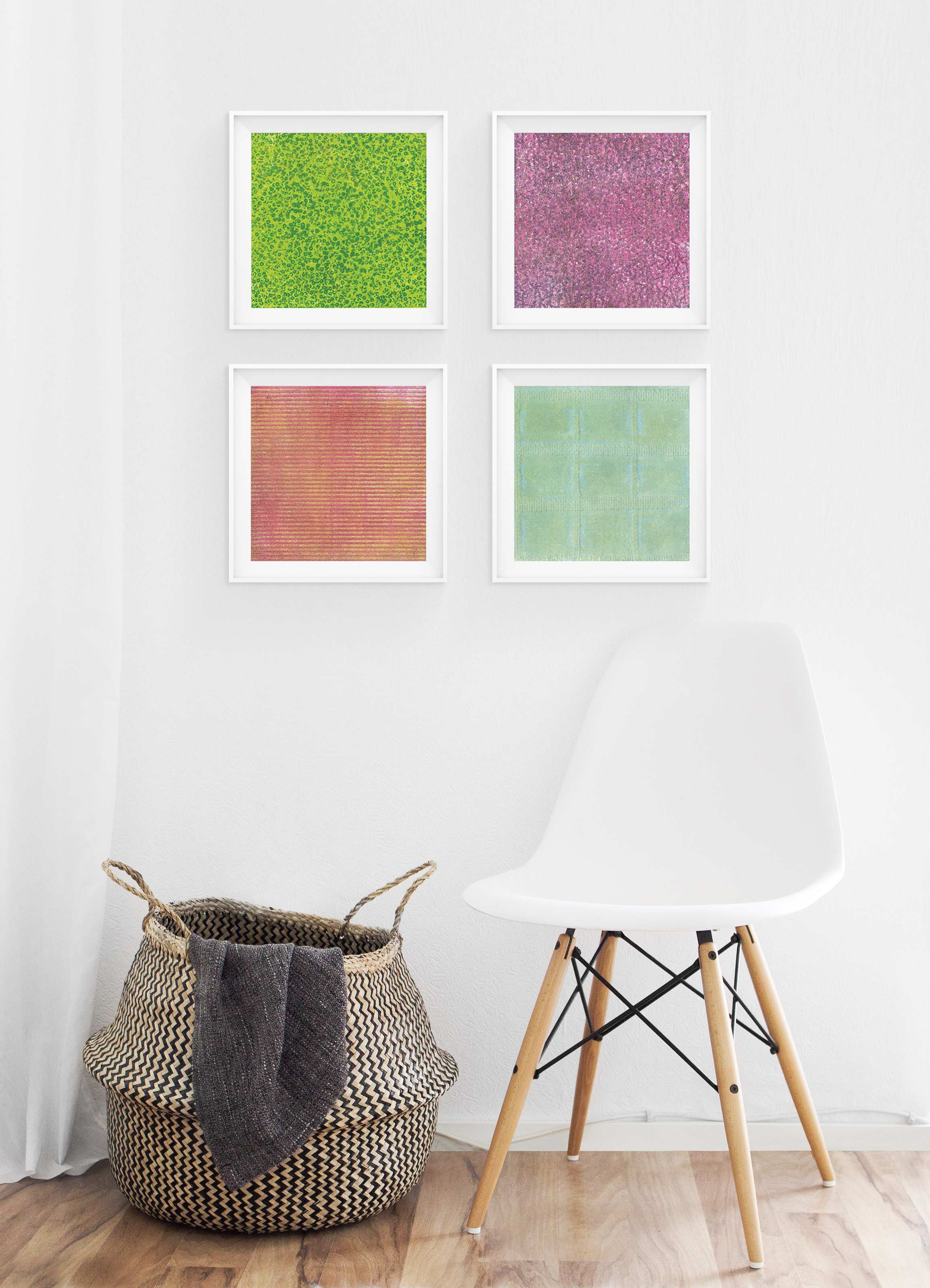 Experimental Prints Wall Art fro West Elm & Minted