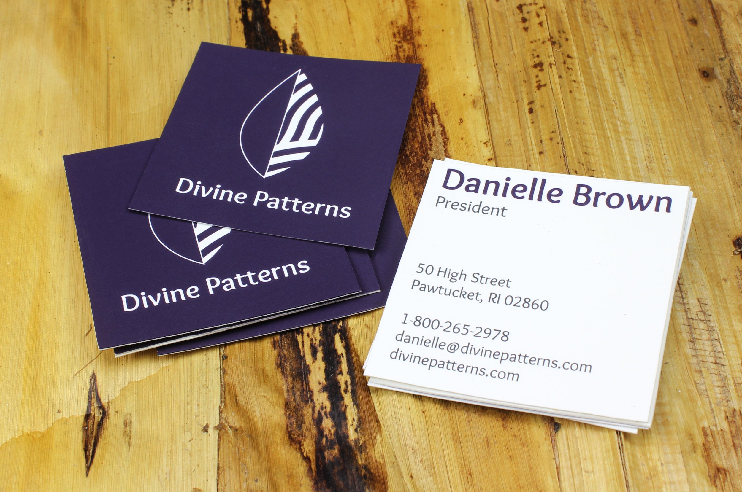 Divine Patterns Business Cards