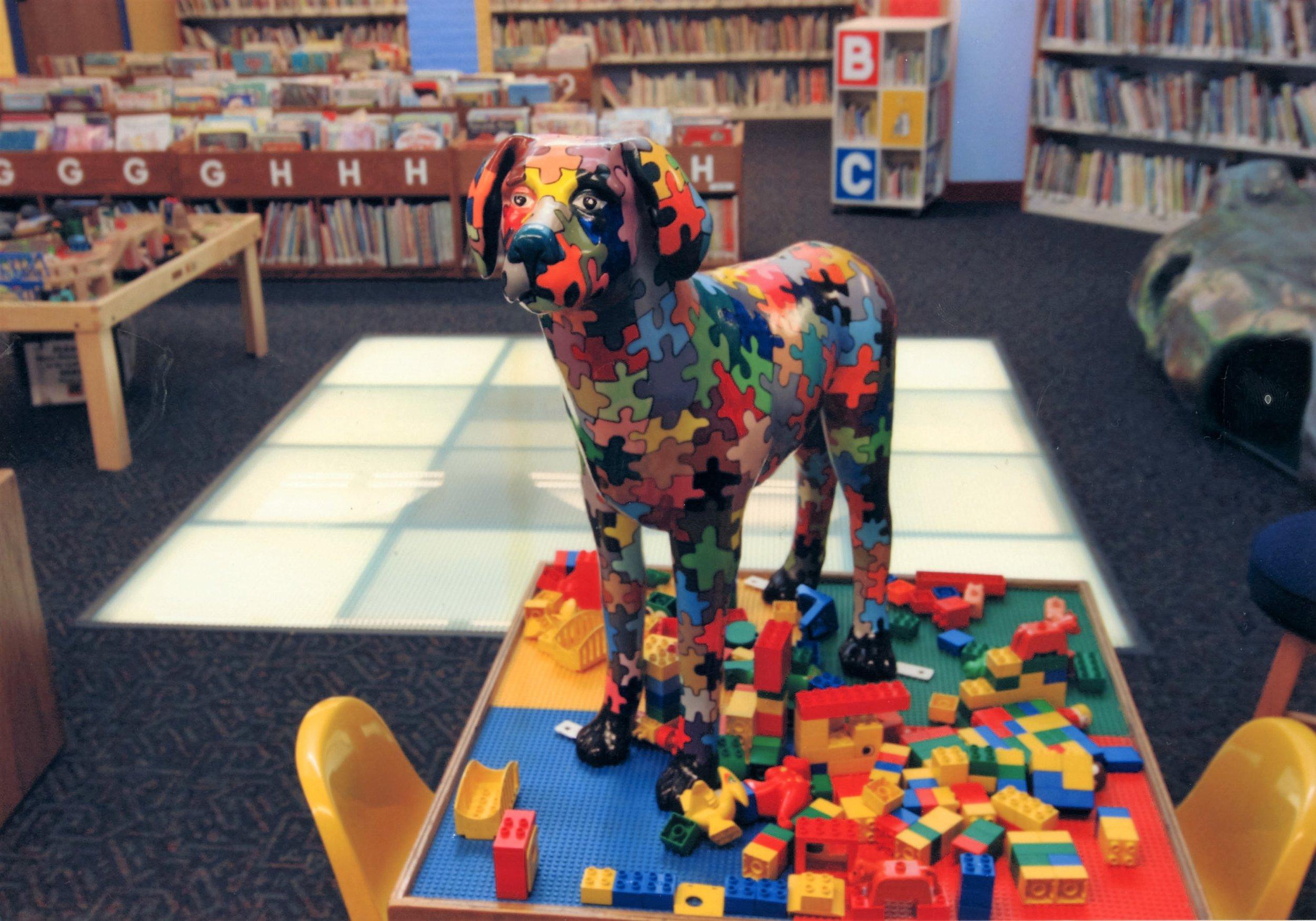 Autism Awareness Dog, Windsor Education Foundation - Windsor, CT