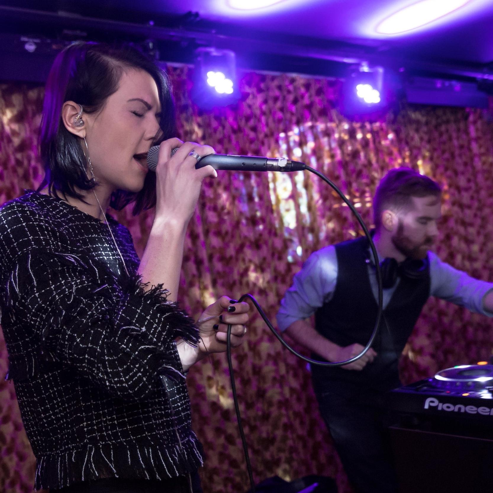 Hybrid Live/DJ set with Kim Sykes from Senseless