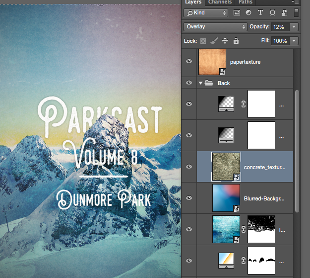 A few of the image layers I apply.