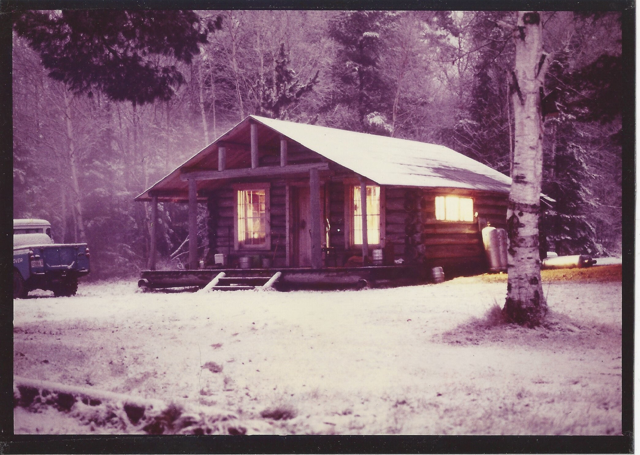 Cabin Number Six, one of several at Hardscrabble.