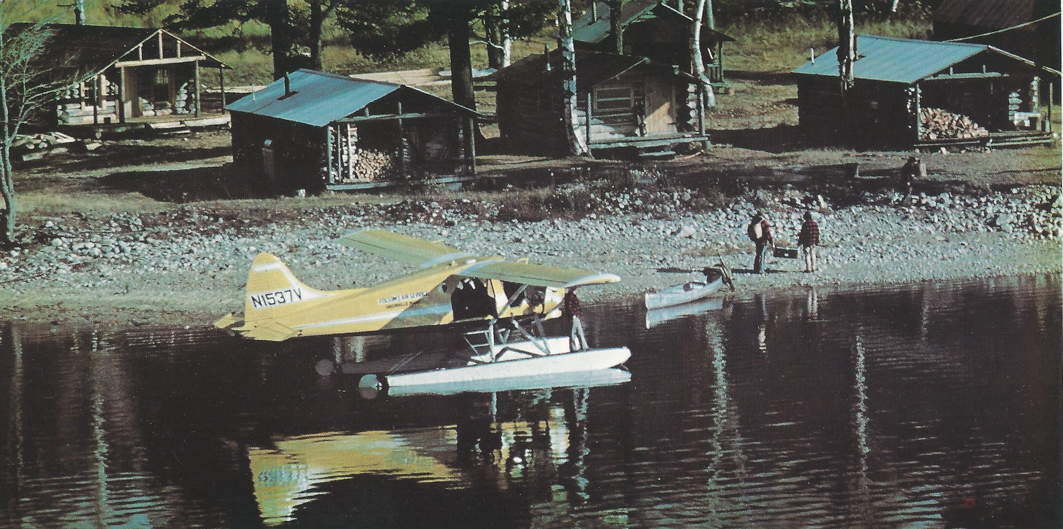 Pilots' choice for canoe-hauling: The De Havilland Beaver.