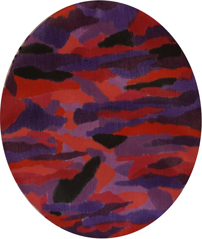 Red, Purple, Black