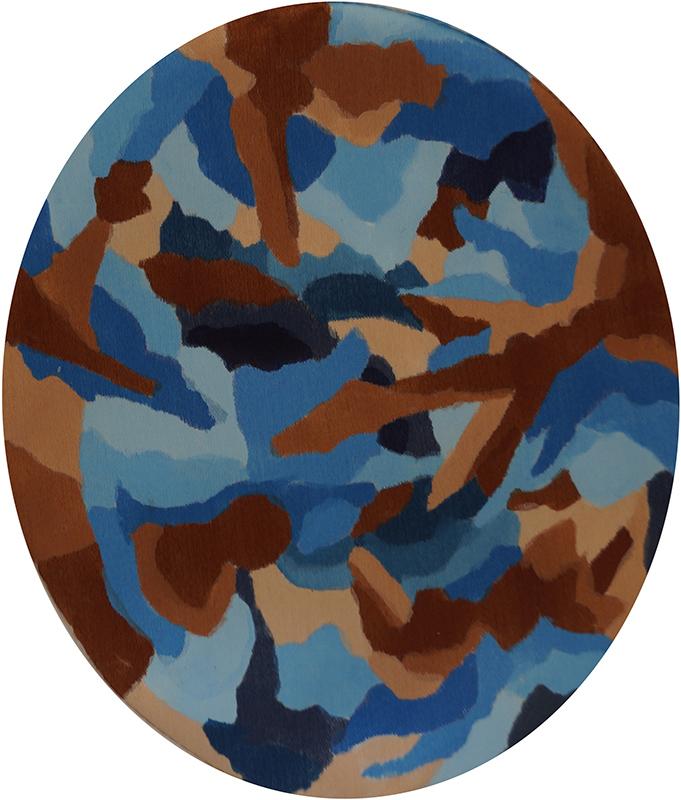 Blue, Brown