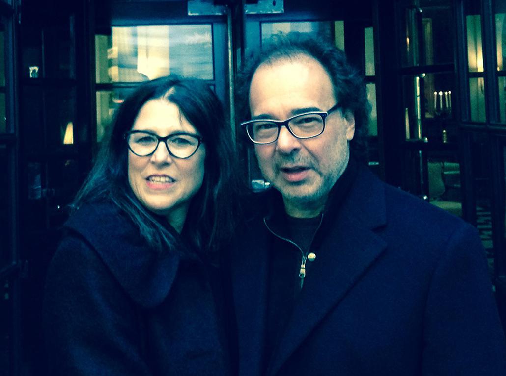 Donna Cohen and her writer husband Brian Alan Lane