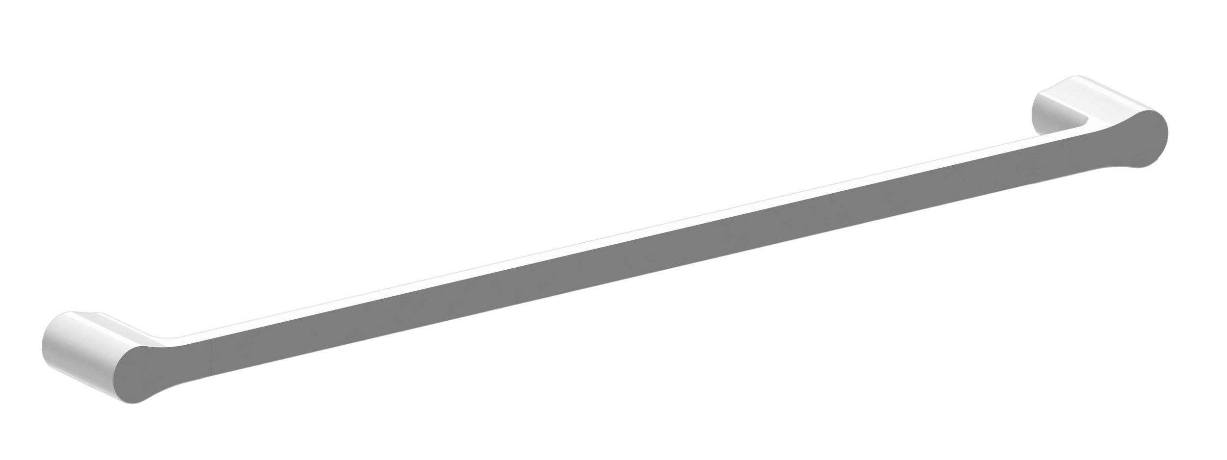 Harmony Bassini Single Towel Rail 600mm