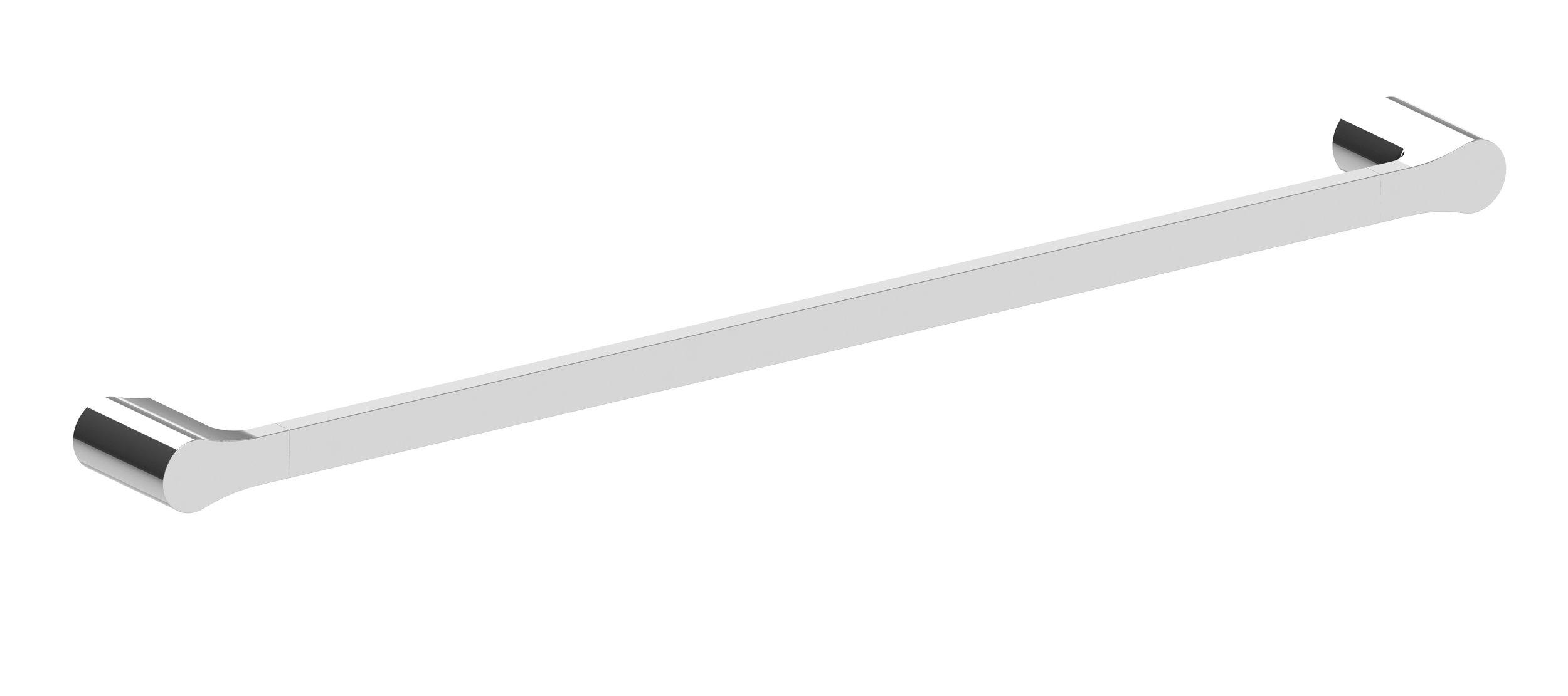 Harmony Bassini Single Towel Rail 750mm