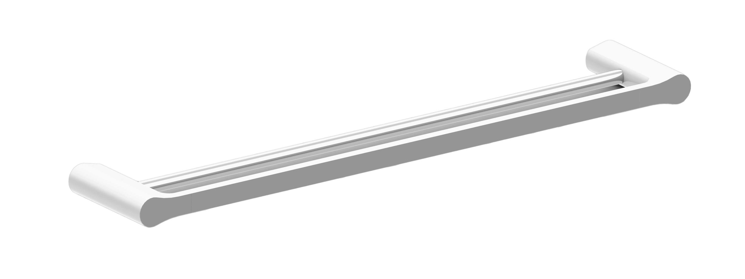 Harmony Bassini Double Towel Rail 600mm