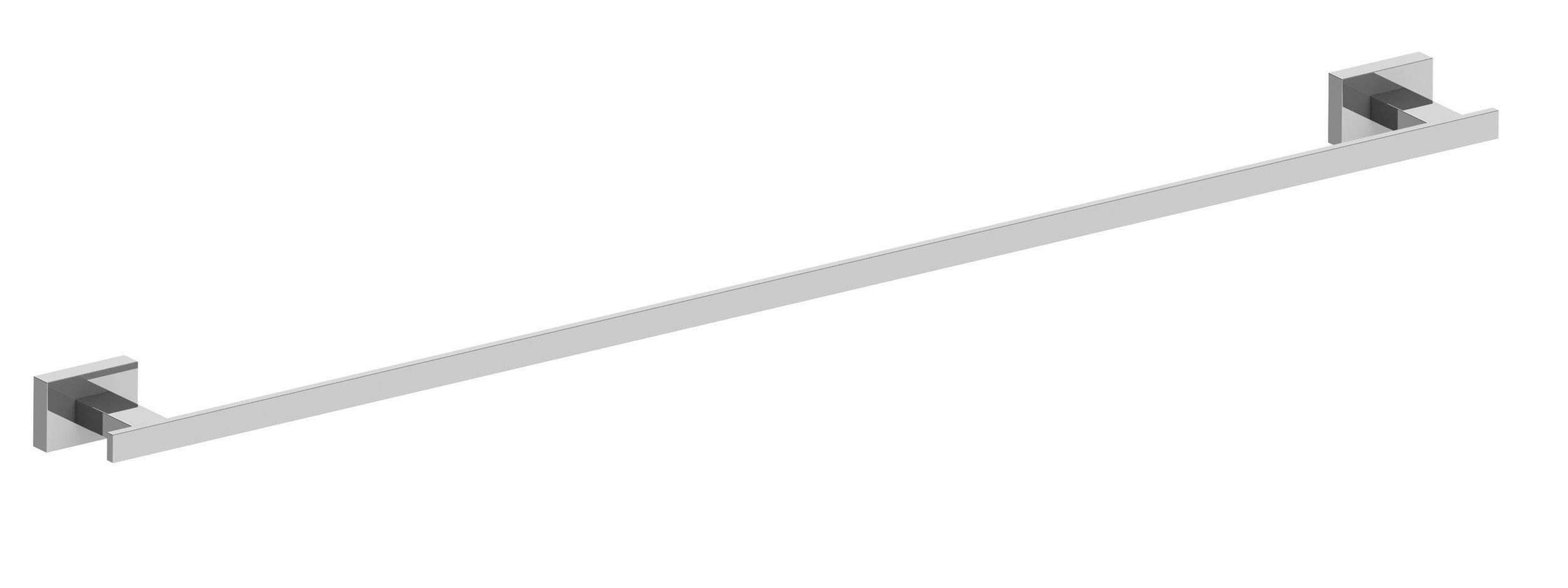 Harmony Alto Single Towel Rail
