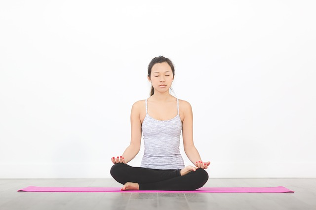Yoga Woman Image In Moorhead, By Fargo