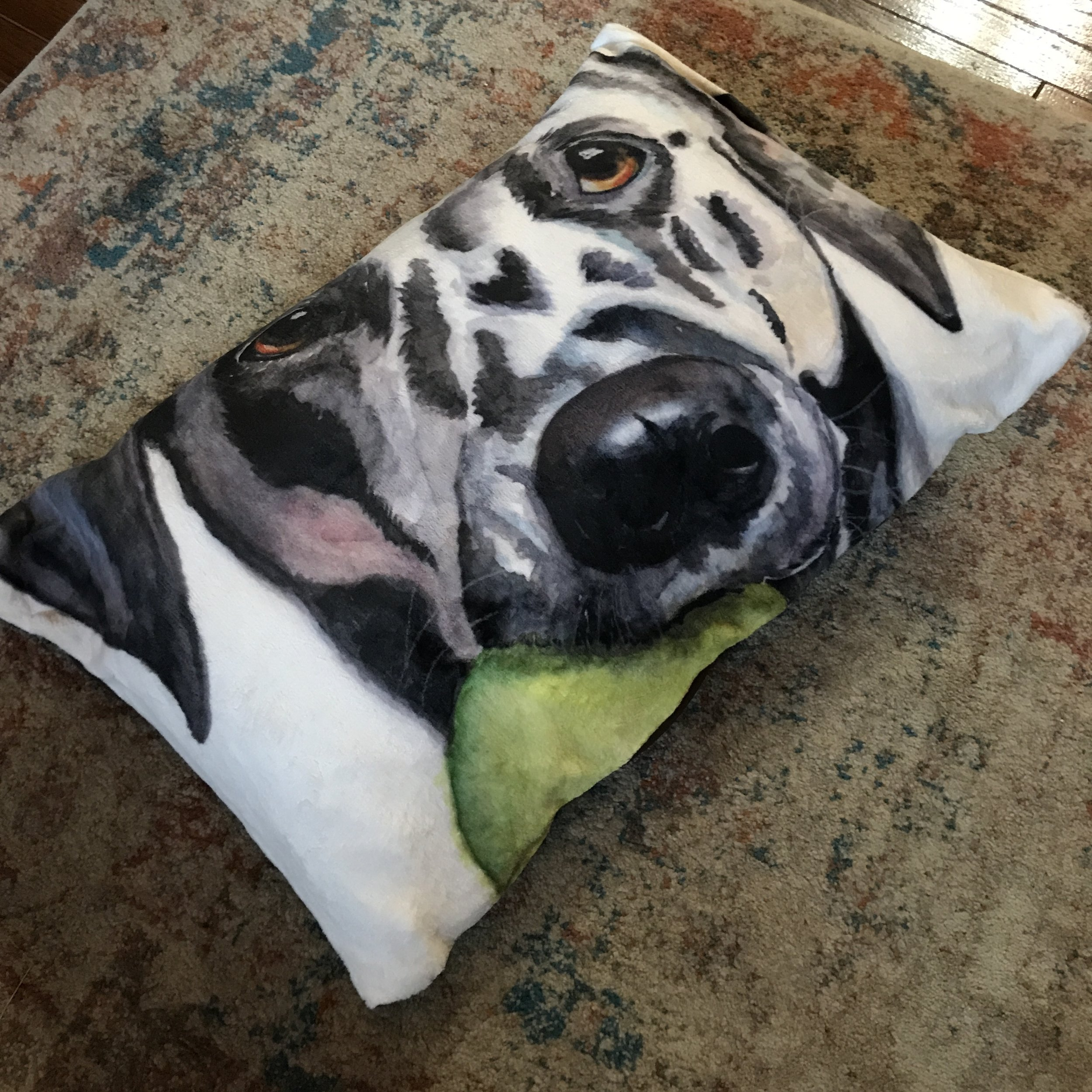 New line of plush PET beds! Each with a different face :-)