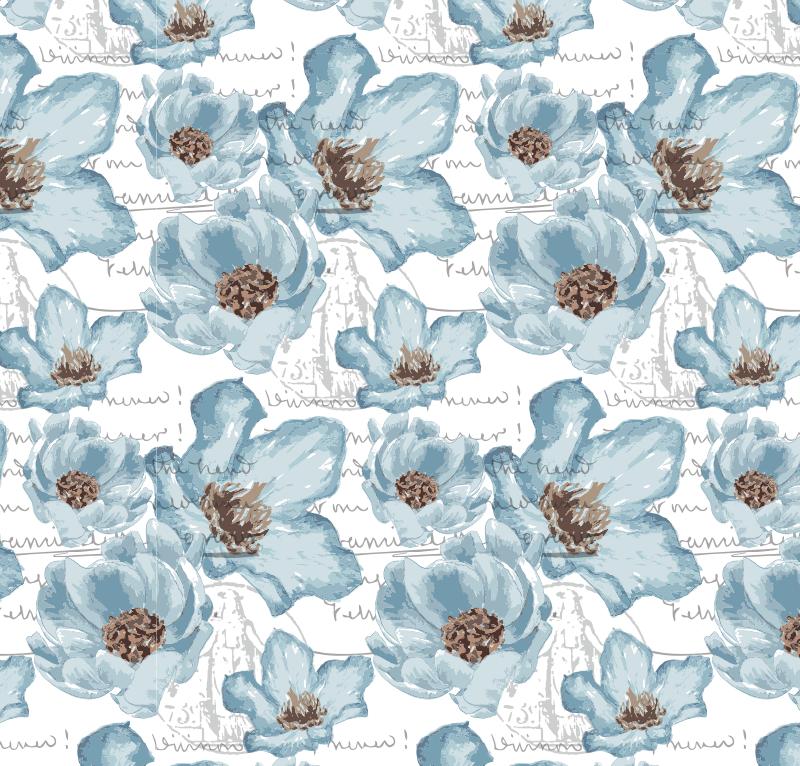 blueflowers_frenchscript_pattern_redstreake.png