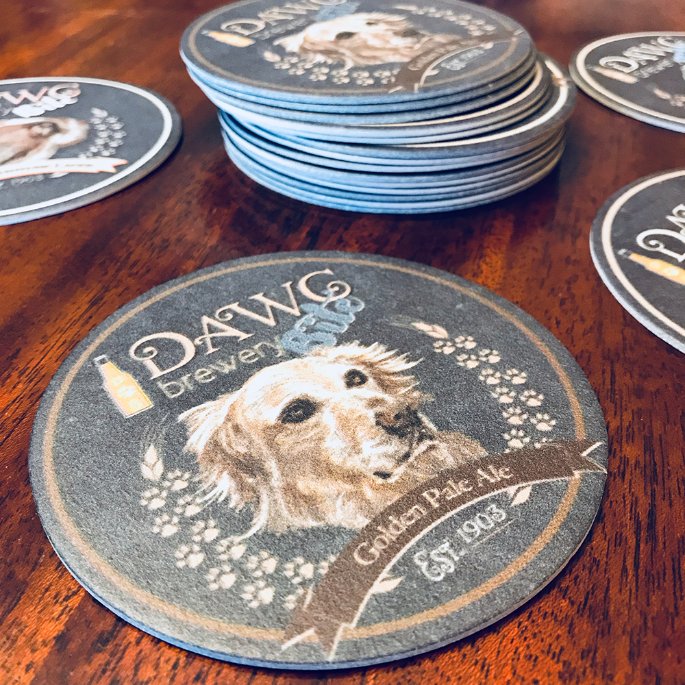 Recyclable coasters