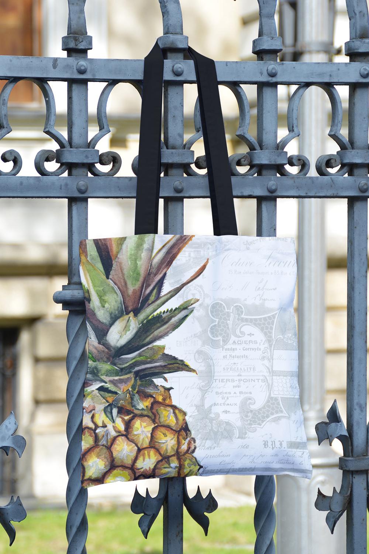 Pineapple tote bag!