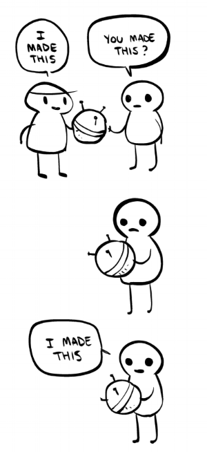 Image Credit: Anthony Clark (aka Nedroid) http://knowyourmeme.com/memes/i-made-this