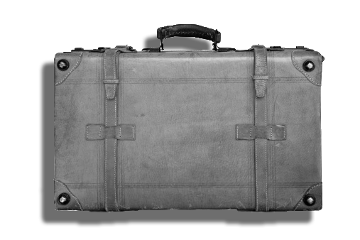 empty suitcase writing method