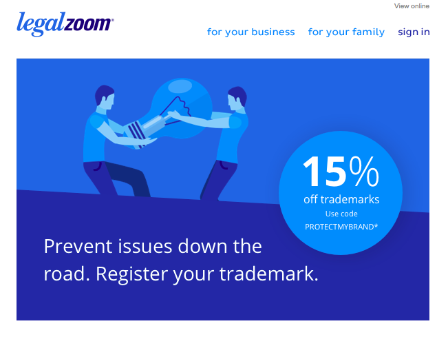 legalzoom cross-promotion