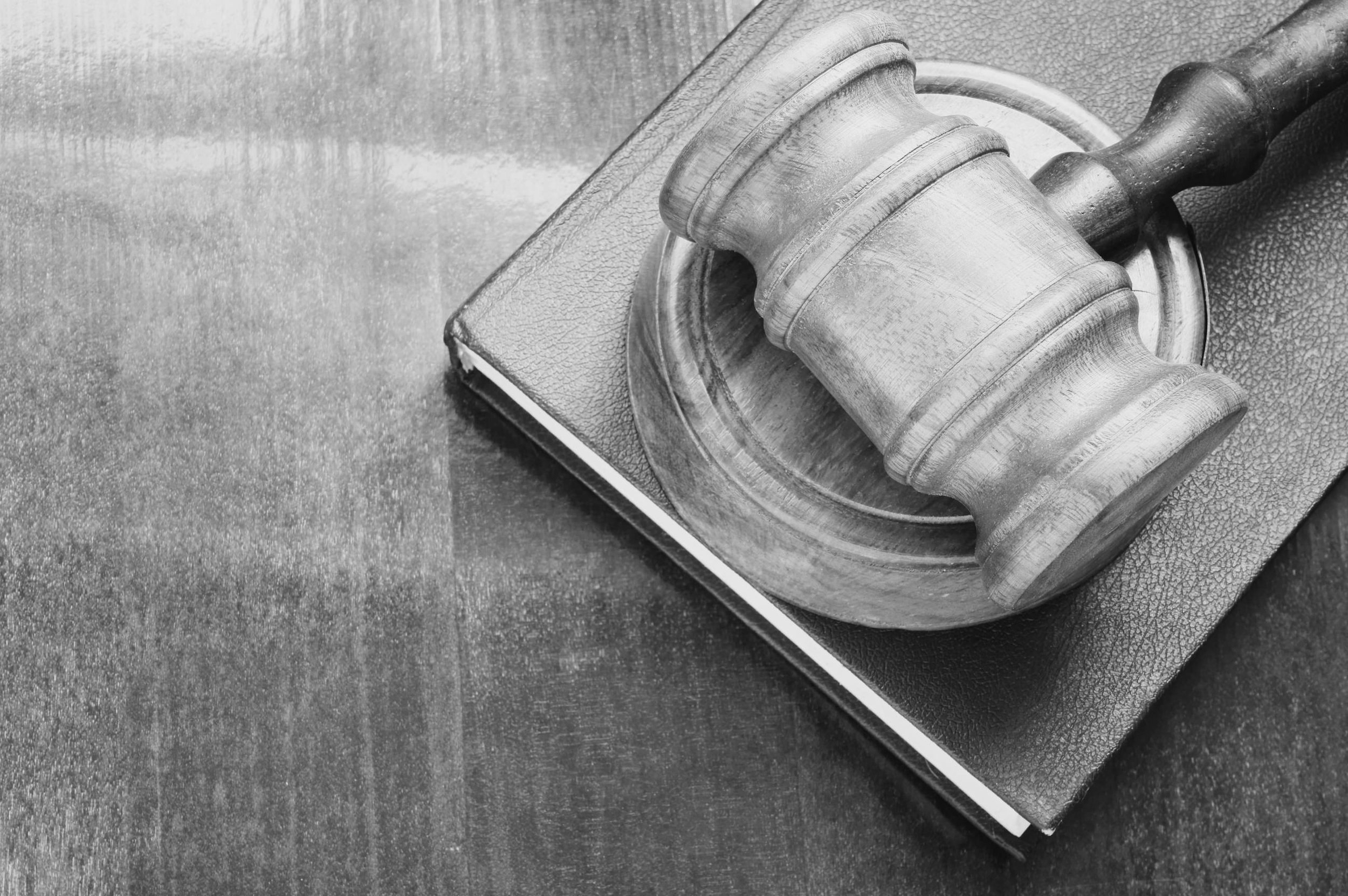 hammer and gavel marketing legal