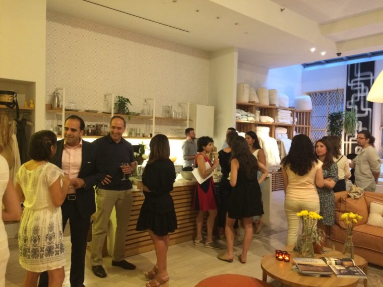 A summer celebration, the Yia Mas event was held at Coco-Mat in Soho. Photo by Eleni Sakellis