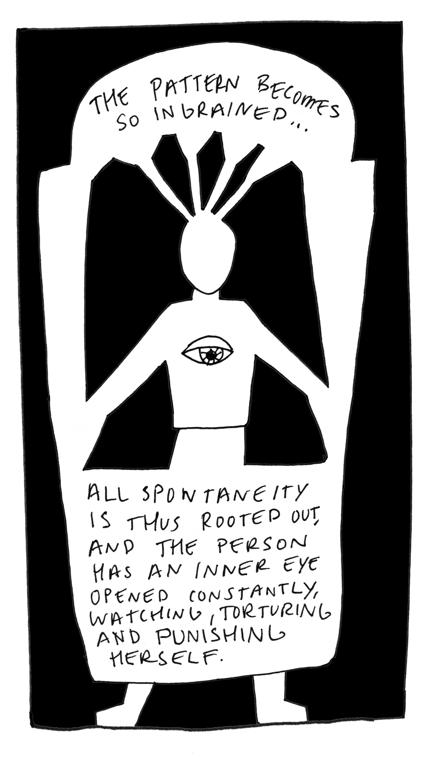 Quote from Moshe Feldenkrais. Image from  Feldenkrais Illustrated: The Art of Learning