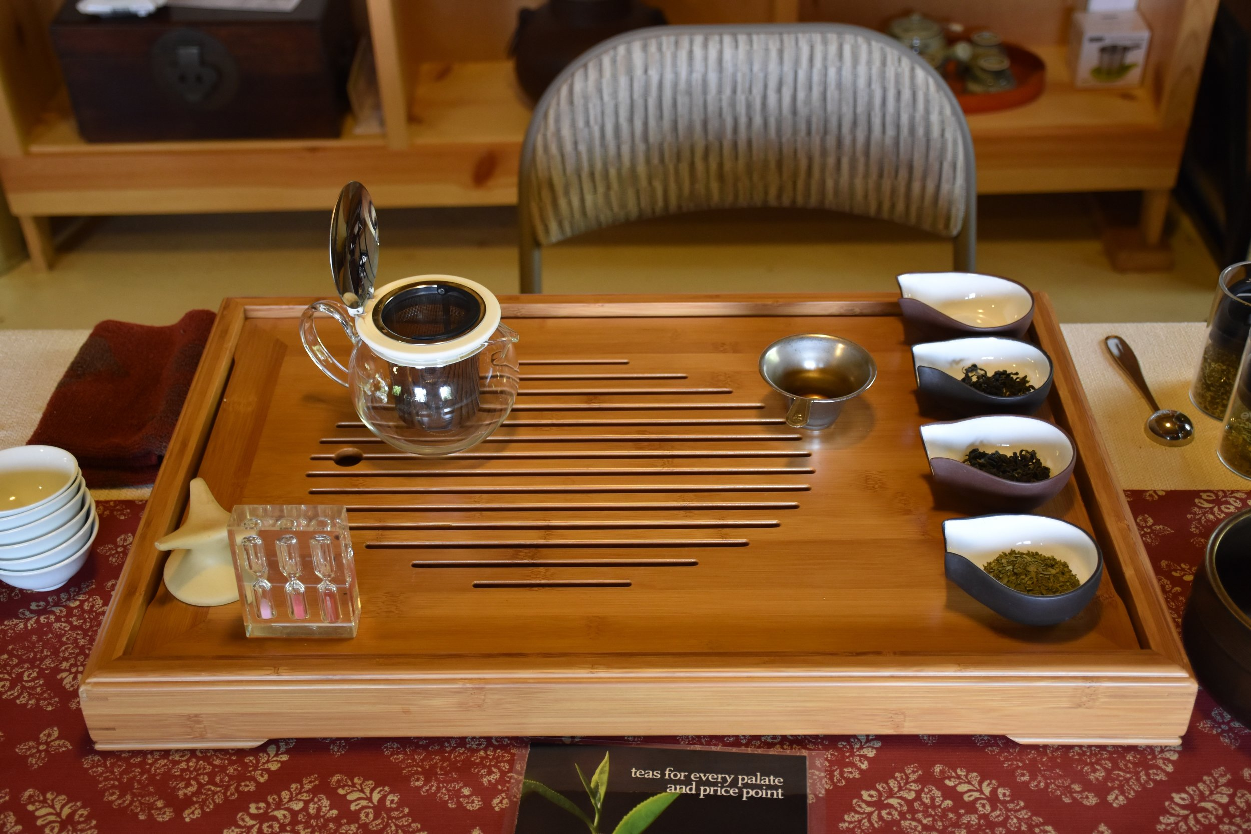 Tea Tasting at Mauna Kea Tea