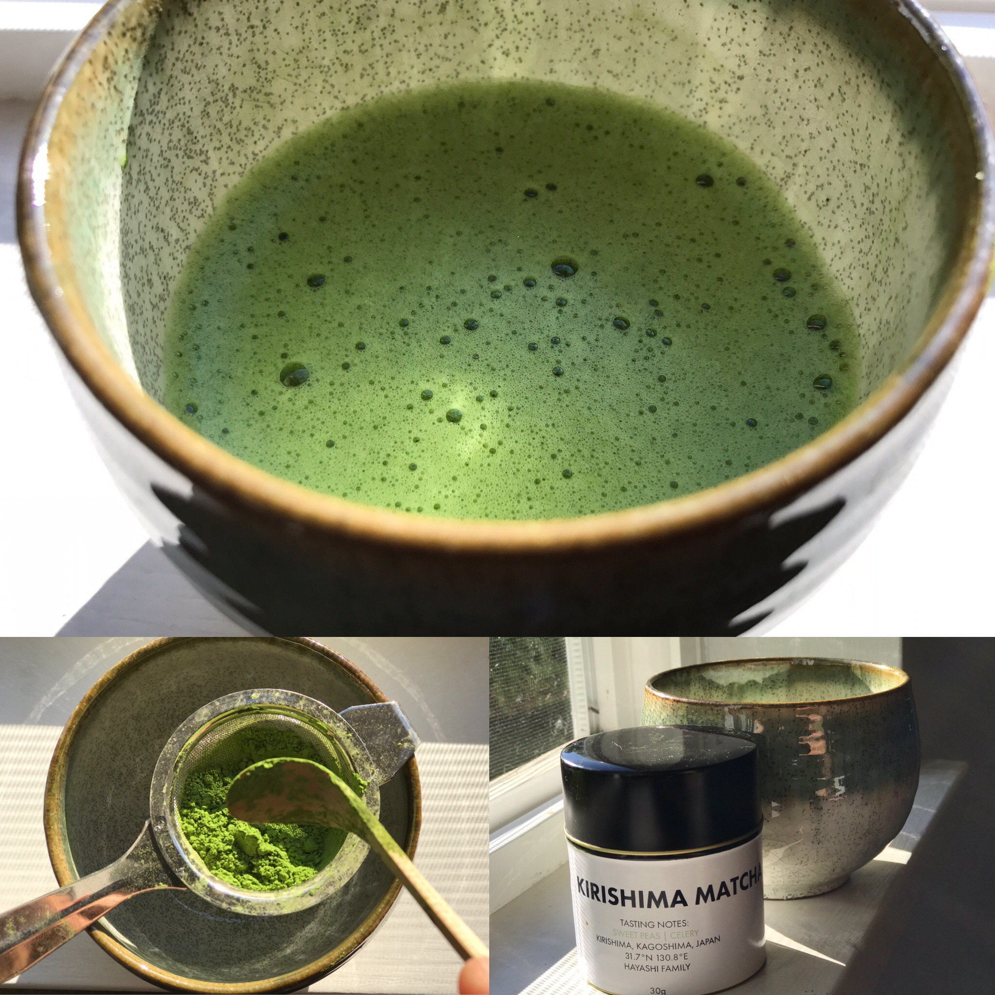 Making the Kirishima Matcha at Home
