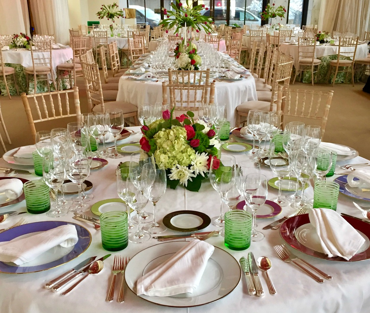 TABLE RENAISSANCE GALA DINNER