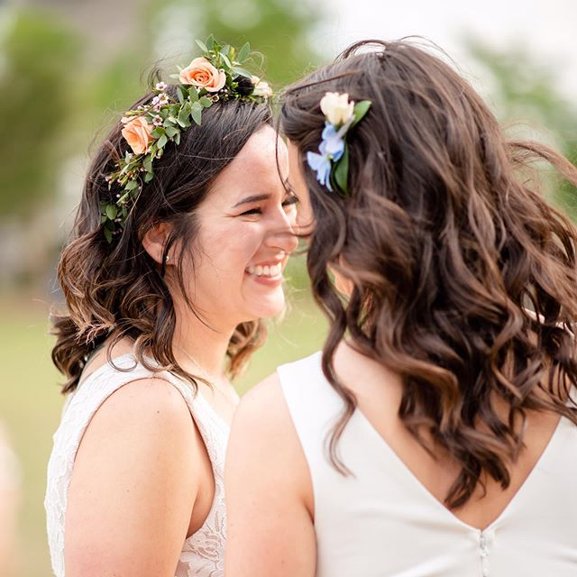 """""""When I looked into your eyes, I didn't just see you. I saw my today, my tomorrow and the rest of my life."""" 👰🏻👰🏻 . . . . . . . . #chattanooga #nooga #noogagram #chatt #chattanoogapride #pridemonth #brides #chattanoogahair #hairofchattanooga #shainaramseybeauty #loveislove #love #chattanoogaphotographer #chattanoogahairstylist #chattanoogamakeupartist #chattanoogaflorist #chattanoogabride #tennesseeebride #nashvillebride #knoxvillebride #atlantabride"""