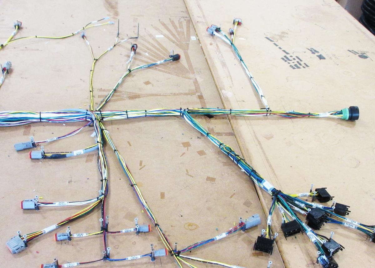 Electripack-wireharnessing