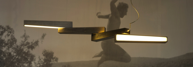 Nu Adjule Light Sculpture Ilanel Bespoke Lighting