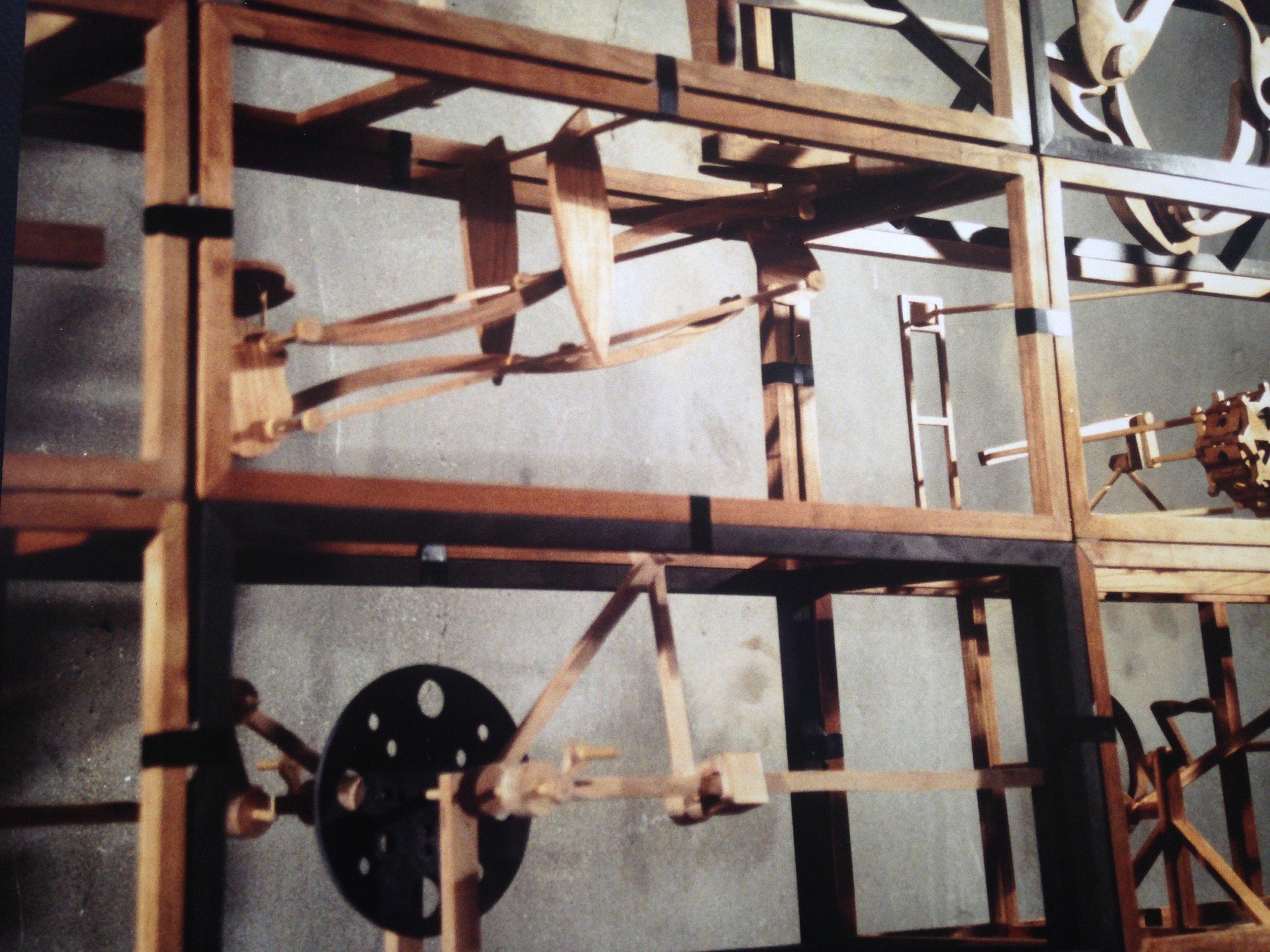 Poetic Machine, cherry wood